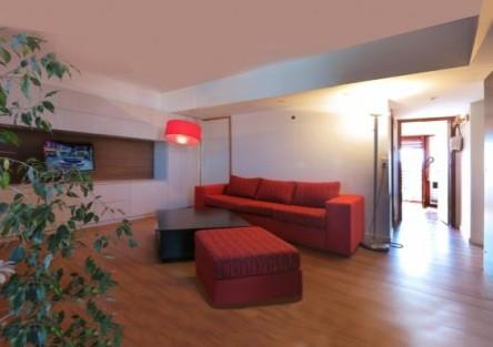Adaptacion de un pequeño apartamento. Mar del Plata