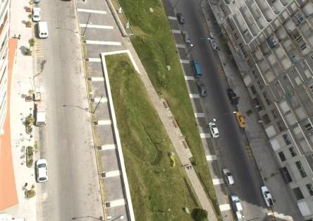 Paseo de las Esculturas. Diagonal Alberdi