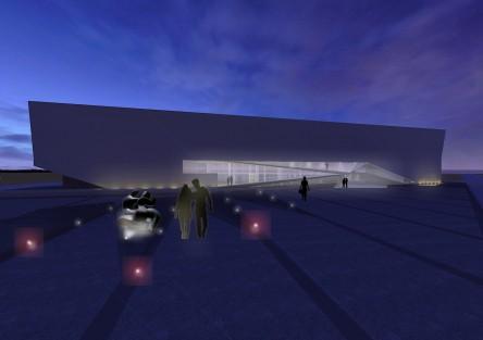 Concurso Museo Provincial de Arte Contemporaneo. Seleccionado .2009.