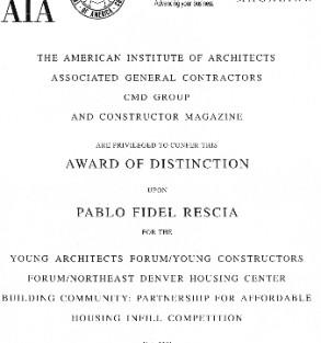 Distincion AIA.2001