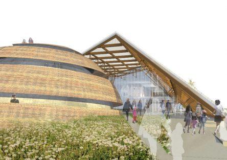 Pabellón Argentino Expo 2023.