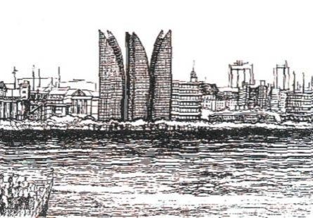 Concurso para un conjunto de torres en Puerto Madero. Mención.