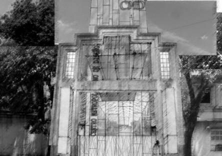 Acceso Centro Metropolitano de Diseño. Buenos Aires.